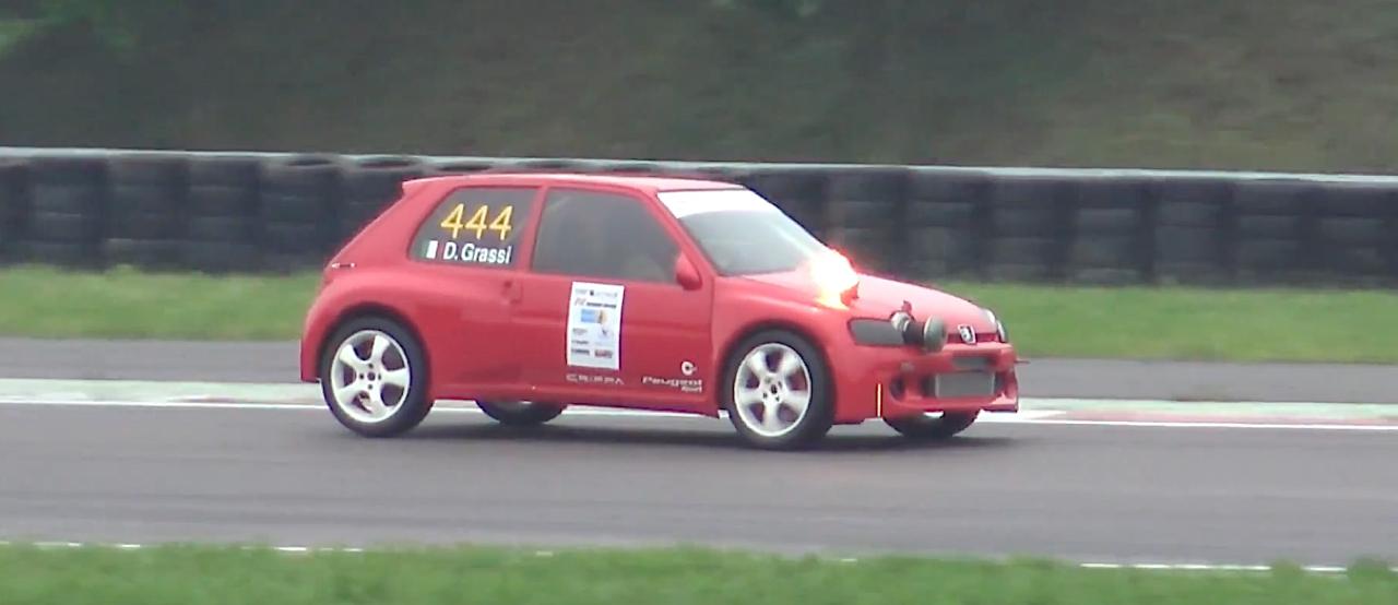 Peugeot 106 S16 Turbo Time Attack... Avec 500 ch sous l'capot ! 1