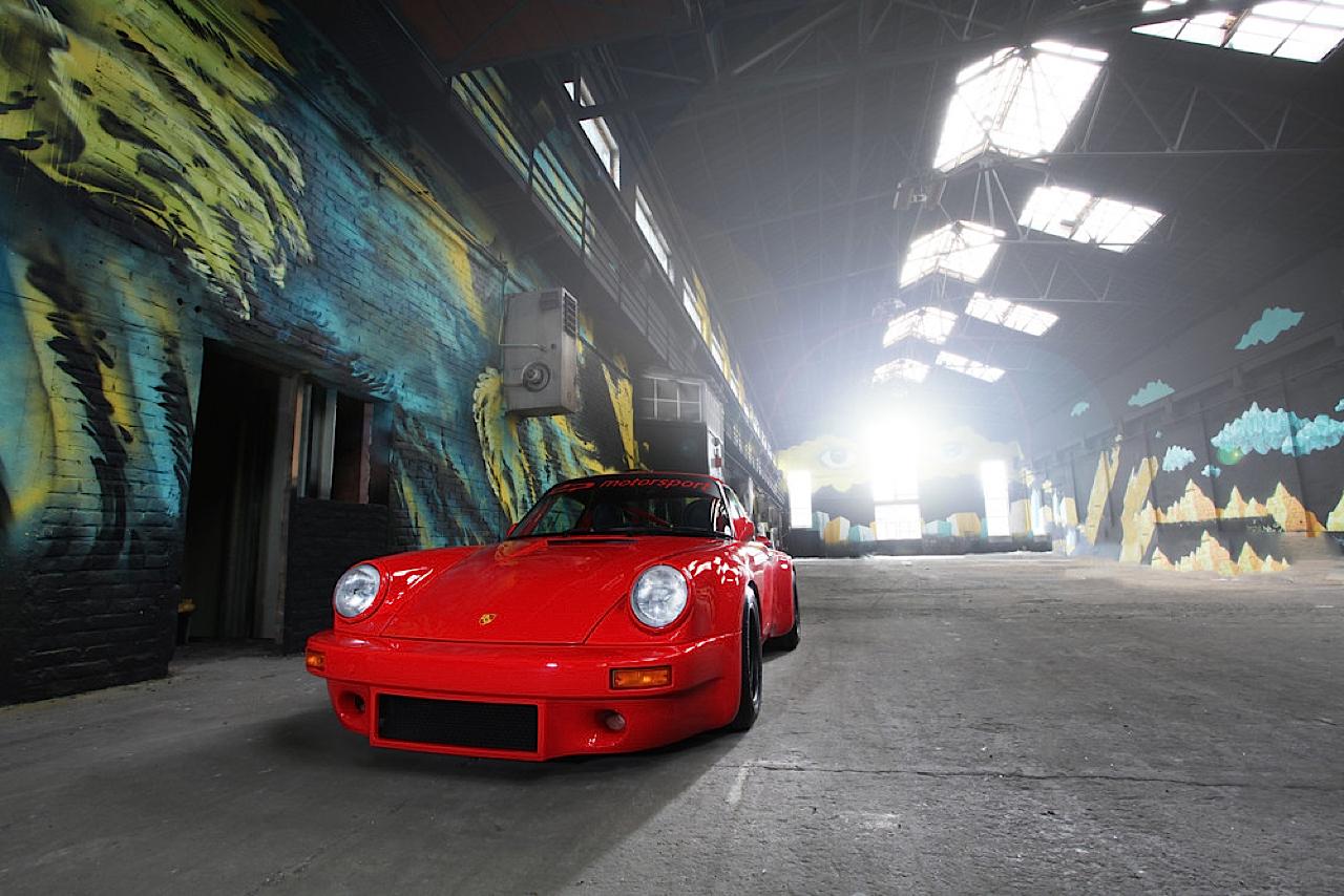 Porsche 911 RS 3.5 Red Evolution - DP Motorsport fait sa révolution ! 38