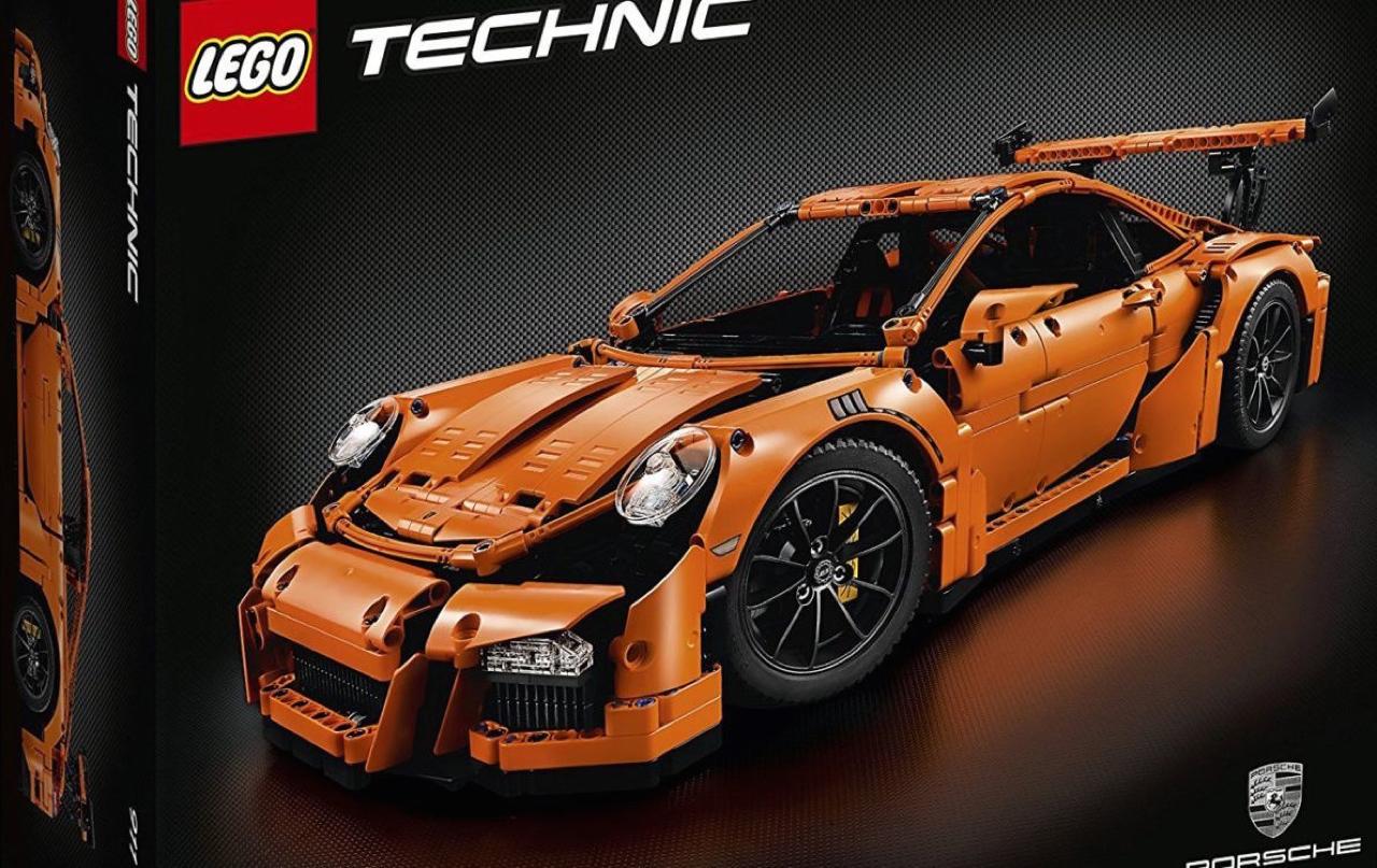 Porsche 991 Lego : Le crash test ! 5