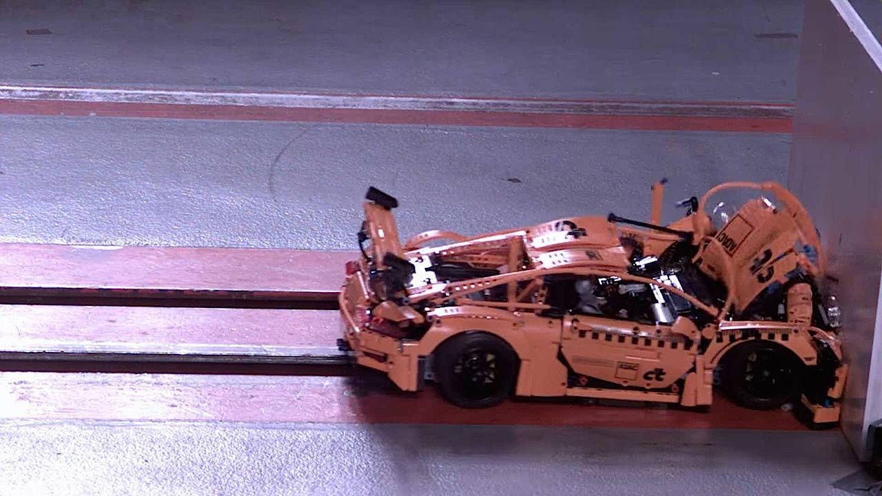Porsche 991 Lego : Le crash test ! 6