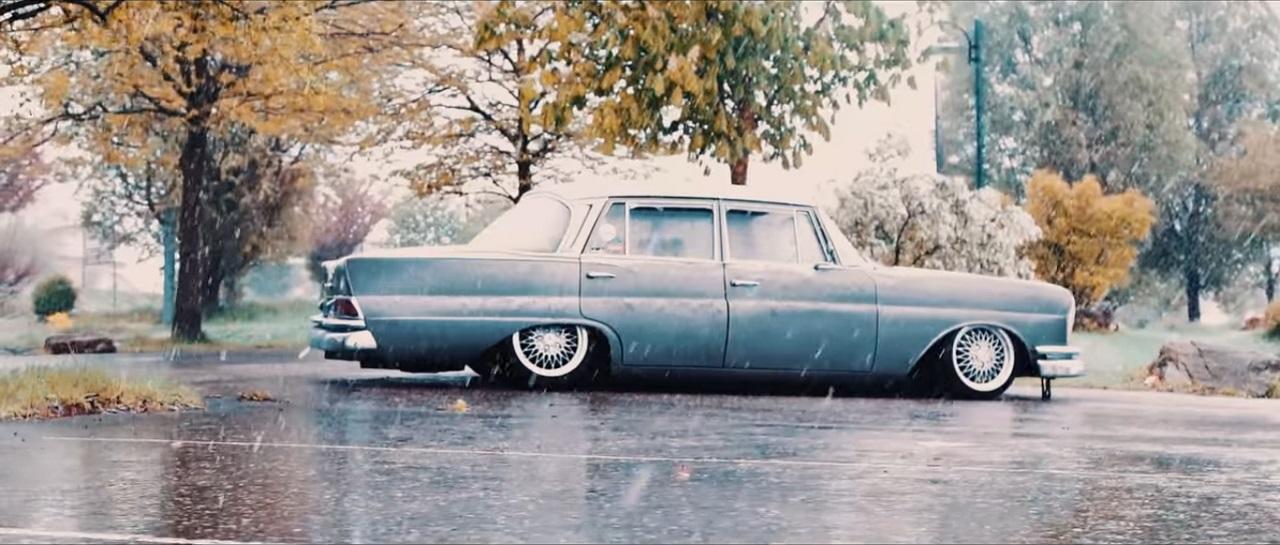 Mercedes W111 Heckflosse - Etoile des neiges ! 5