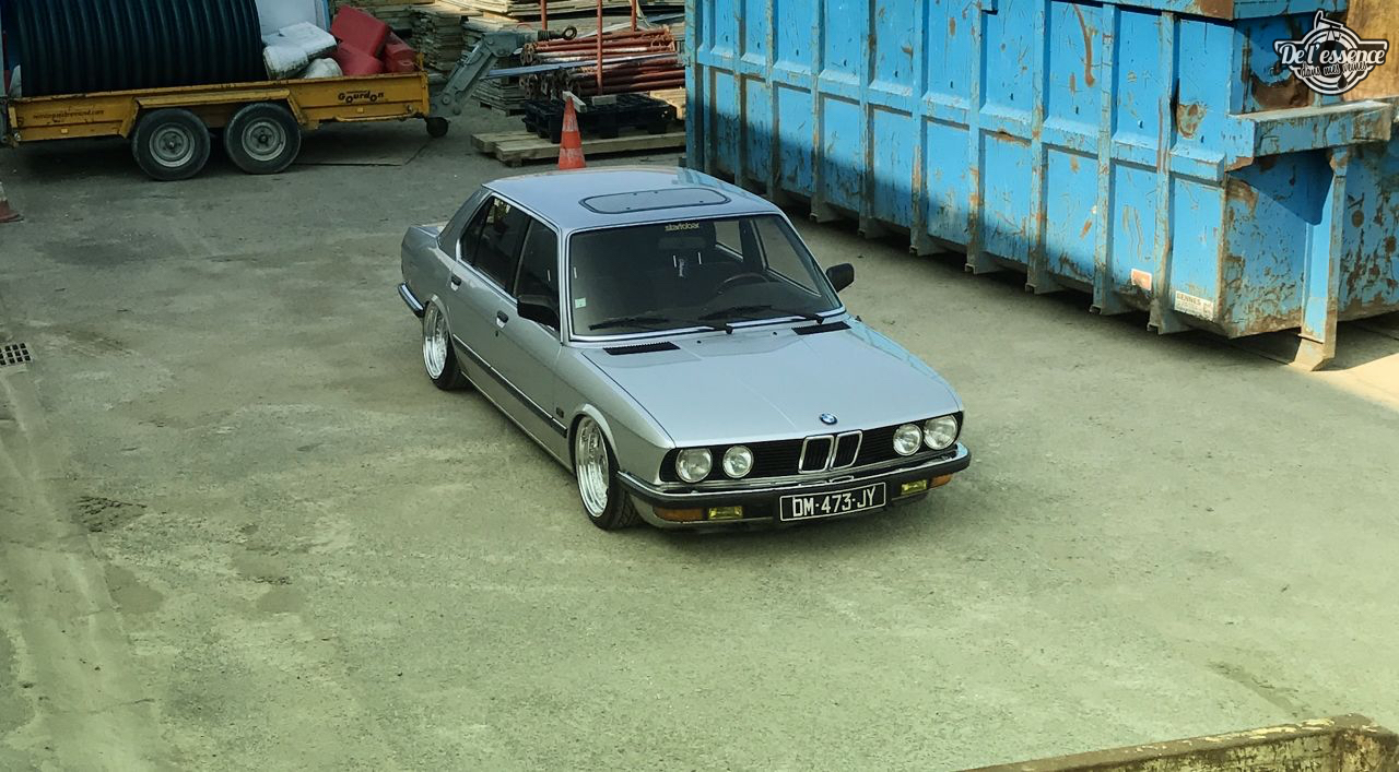 Bagged BMW E28 520i... Low & Flow ! 46