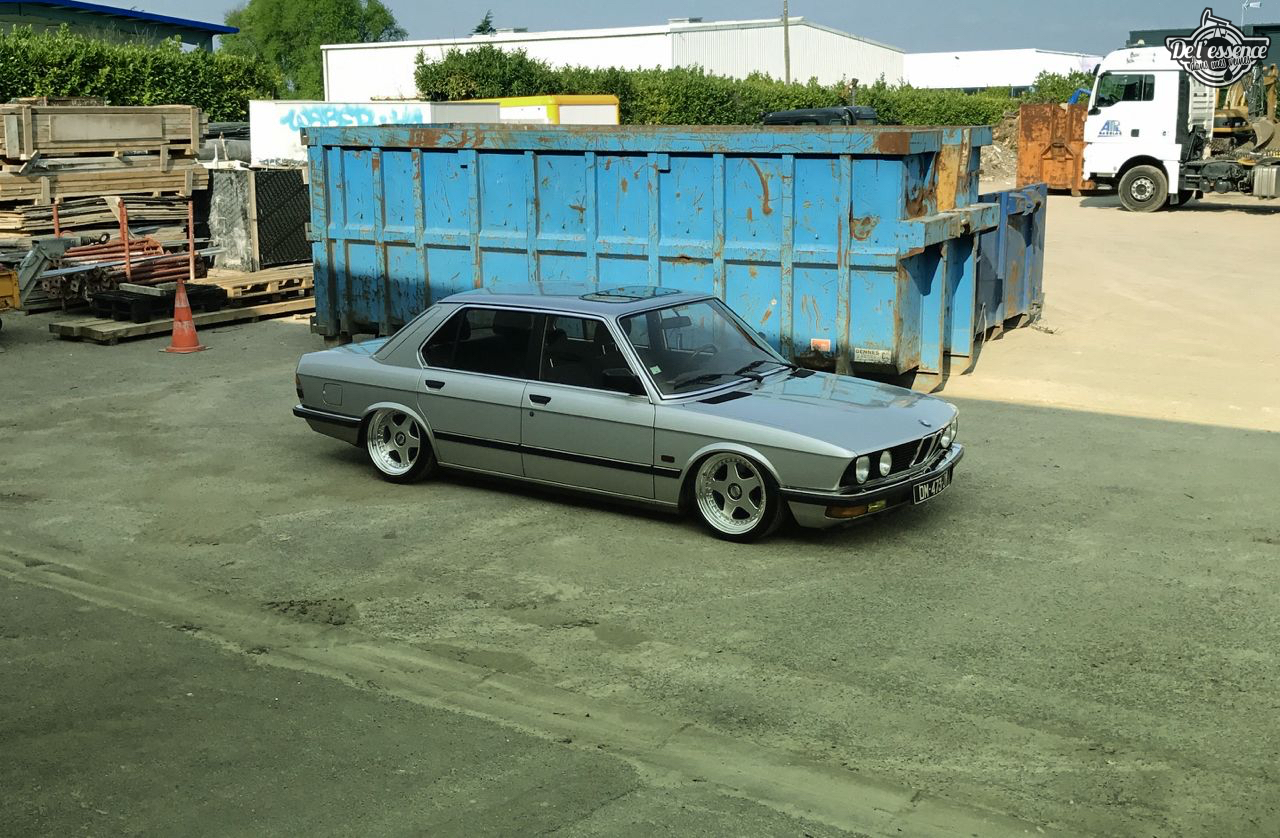 Bagged BMW E28 520i... Low & Flow ! 43