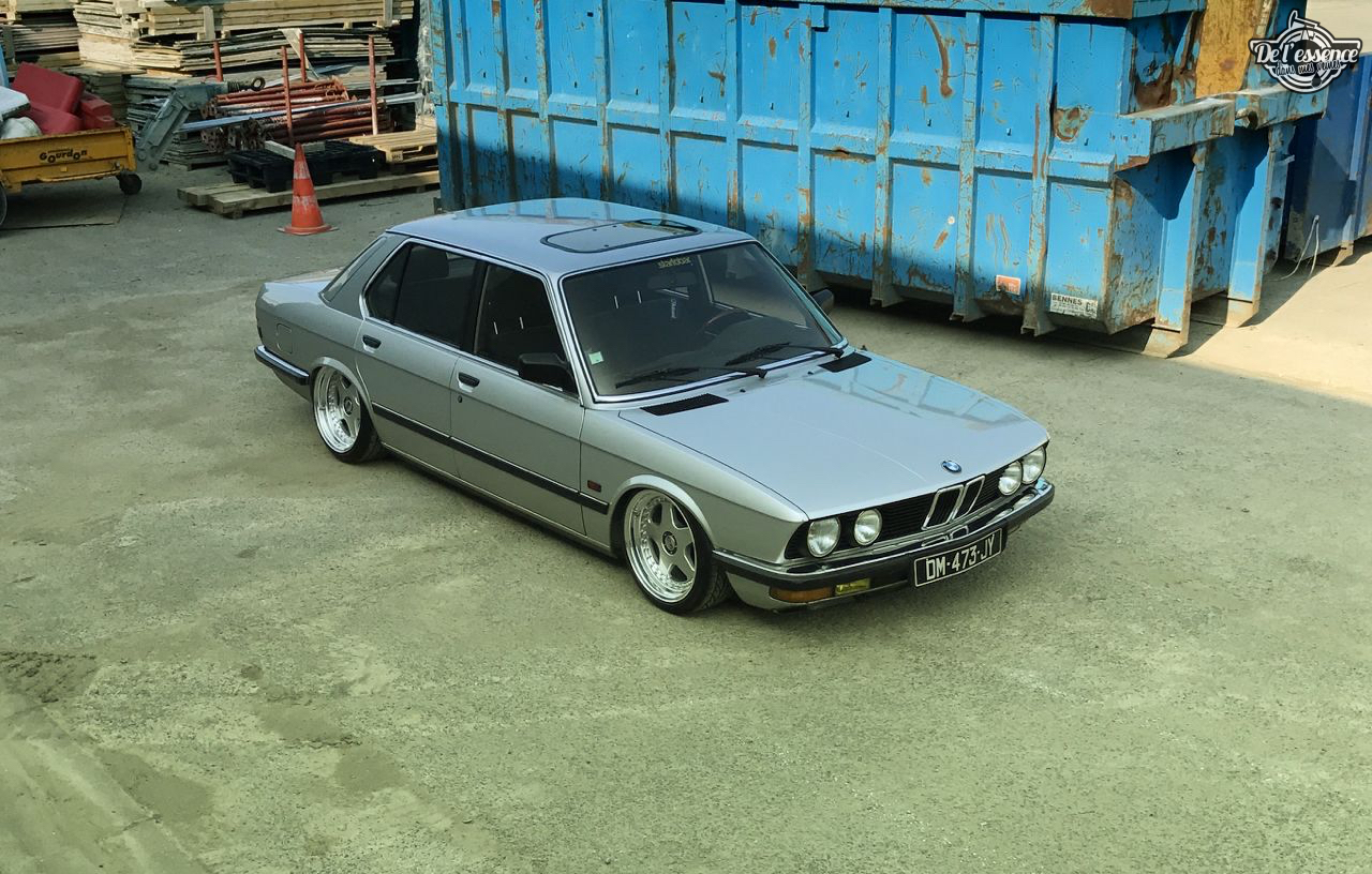 Bagged BMW E28 520i... Low & Flow ! 40
