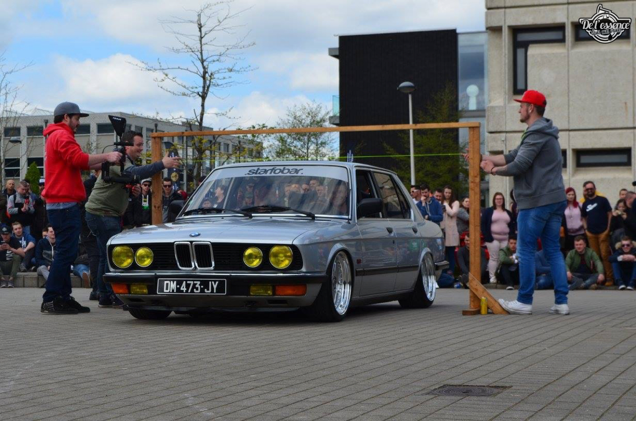 Bagged BMW E28 520i... Low & Flow ! 37