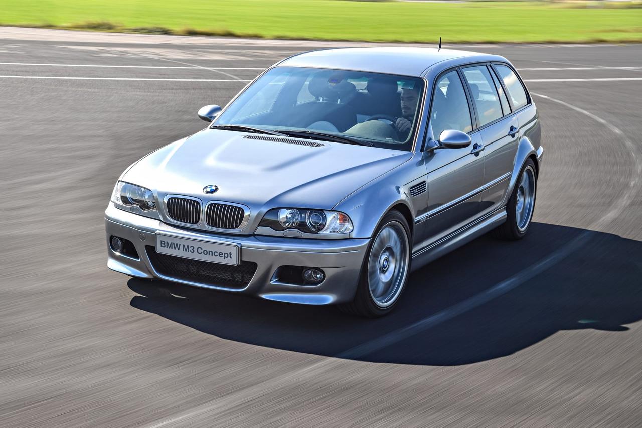 BMW M3 E46... touring ! Oui, elle existe... 2