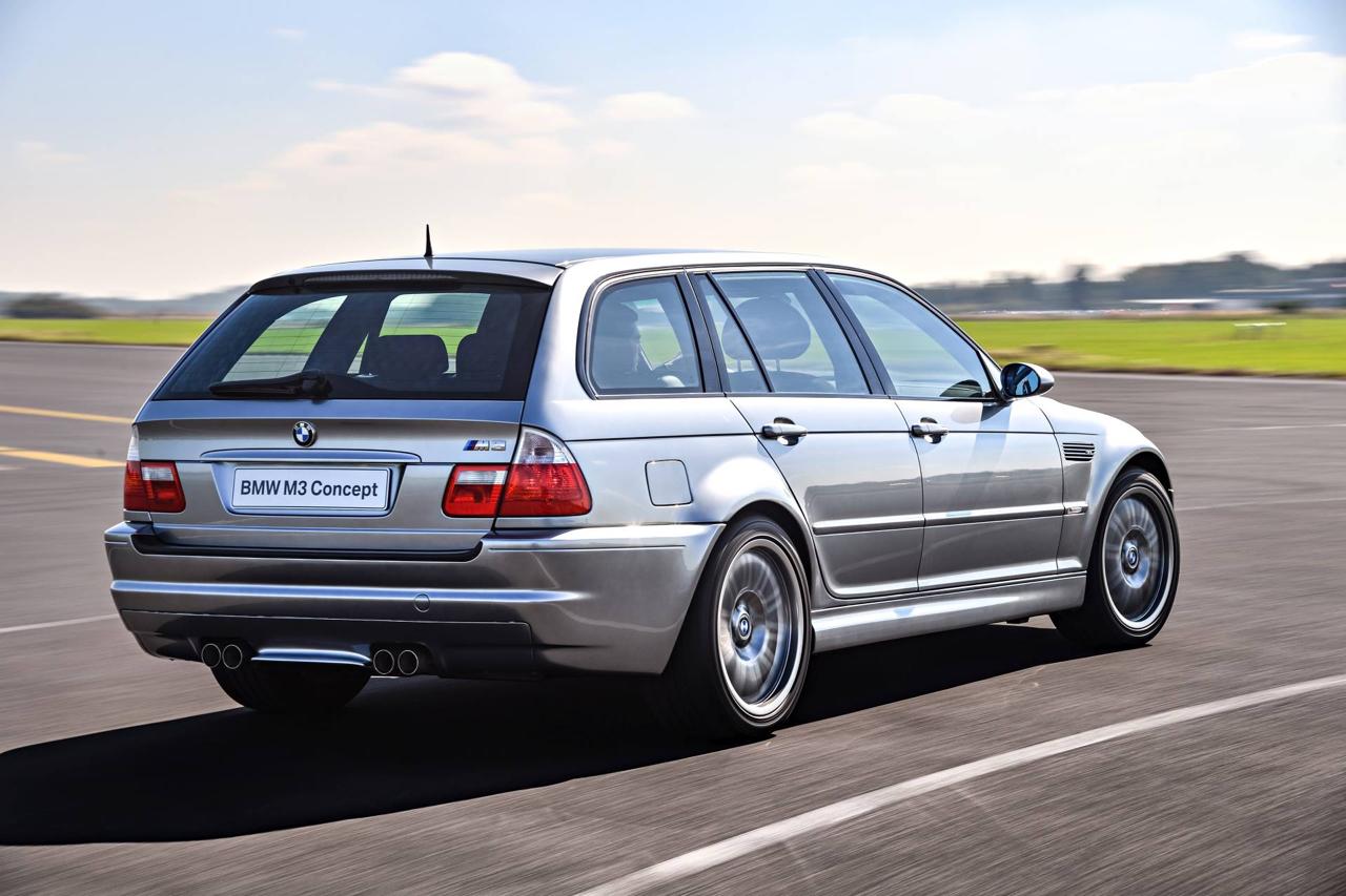 BMW M3 E46... touring ! Oui, elle existe... 3
