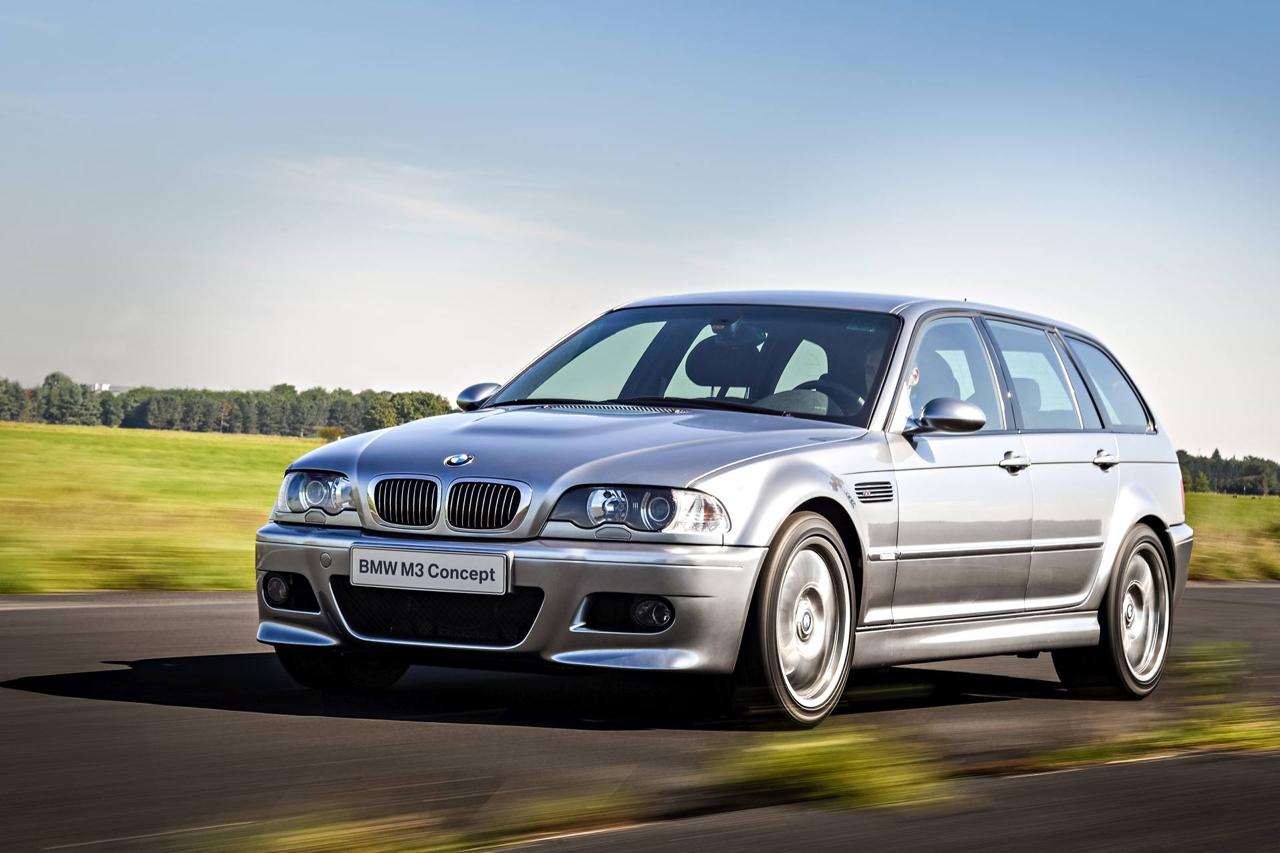 BMW M3 E46... touring ! Oui, elle existe... 16