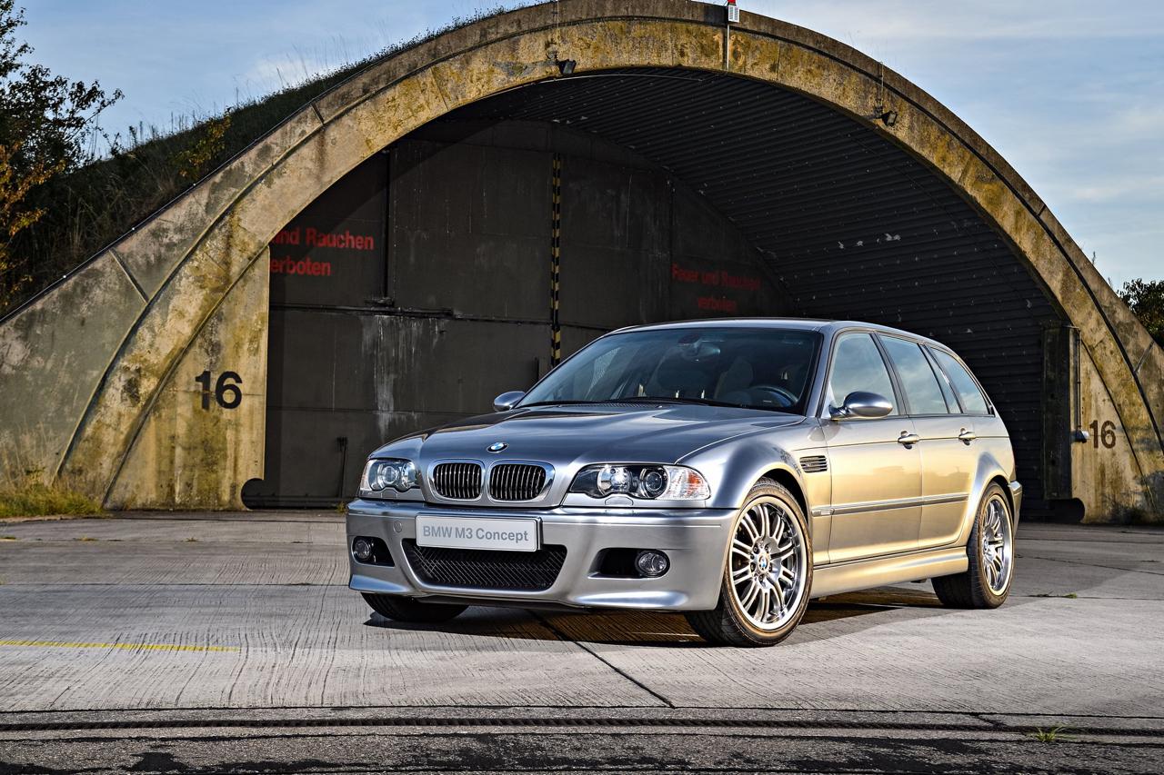BMW M3 E46... touring ! Oui, elle existe... 13