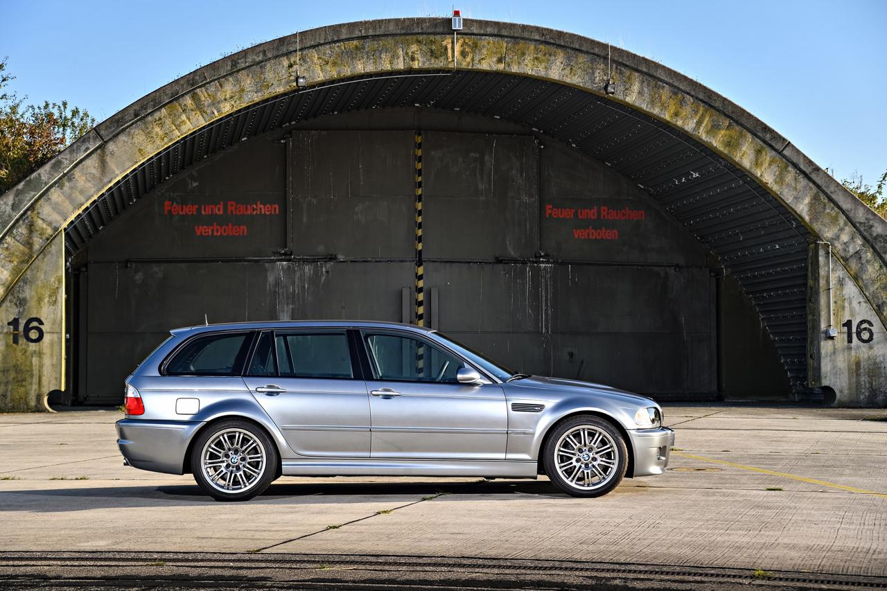 BMW M3 E46... touring ! Oui, elle existe... 7