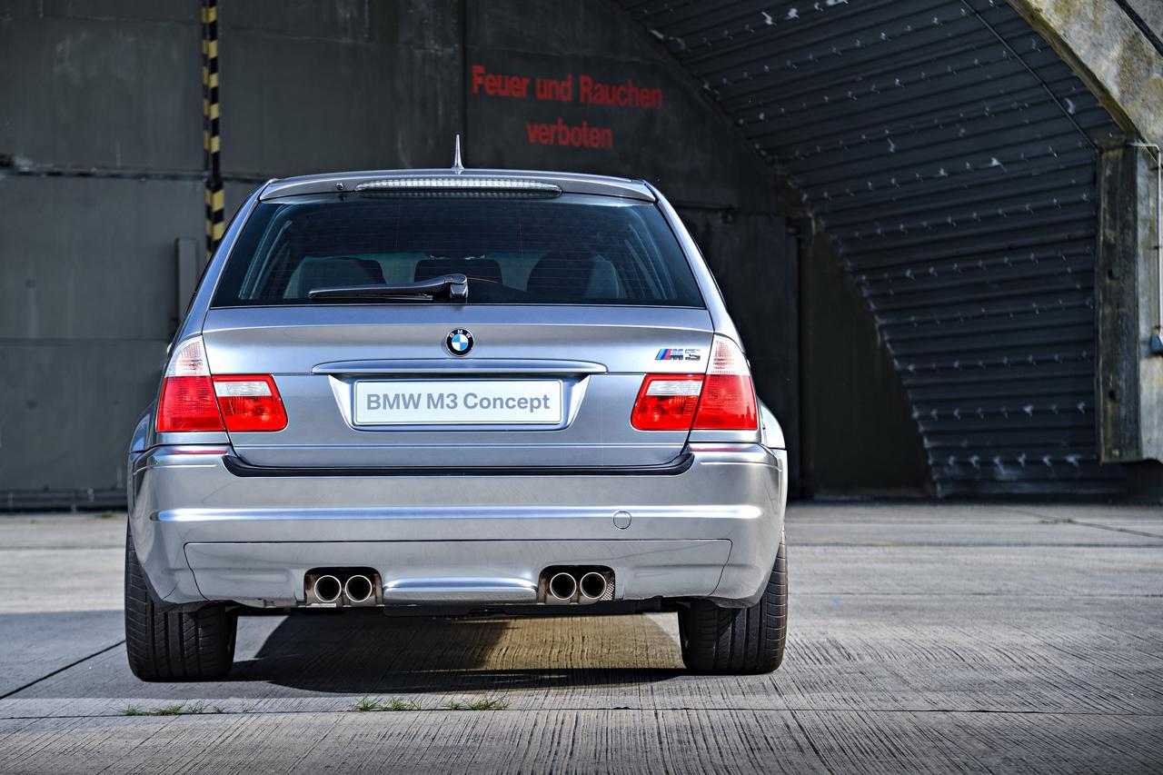 BMW M3 E46... touring ! Oui, elle existe... 6