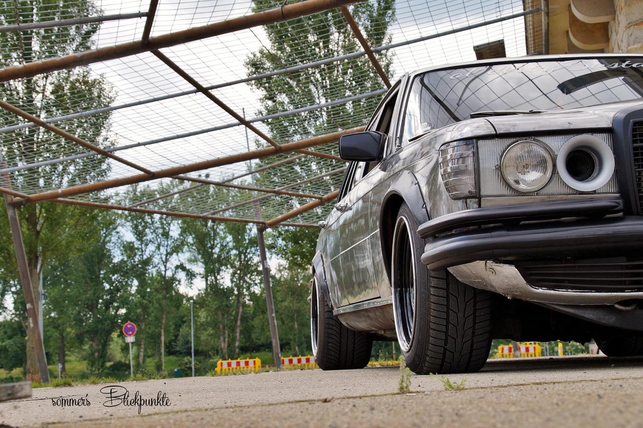 Mercedes W116 280 SE - Ol'dirty bastard ! 1