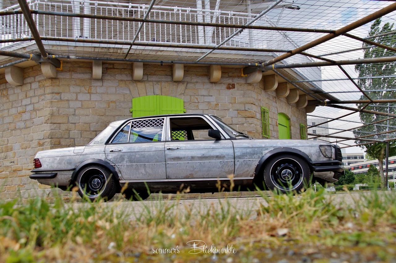 Mercedes W116 280 SE - Ol'dirty bastard ! 11