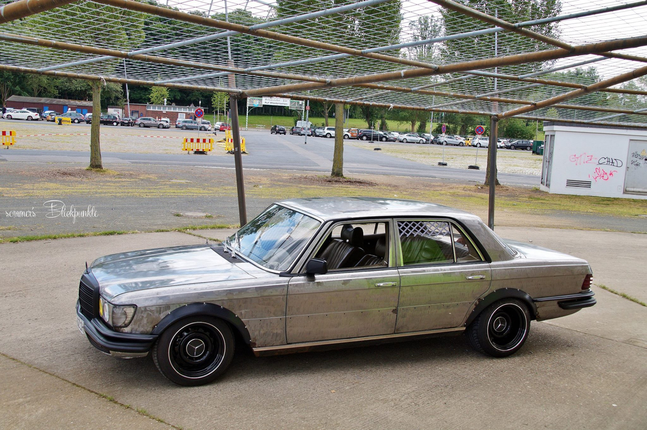 Mercedes W116 280 SE - Ol'dirty bastard ! 8