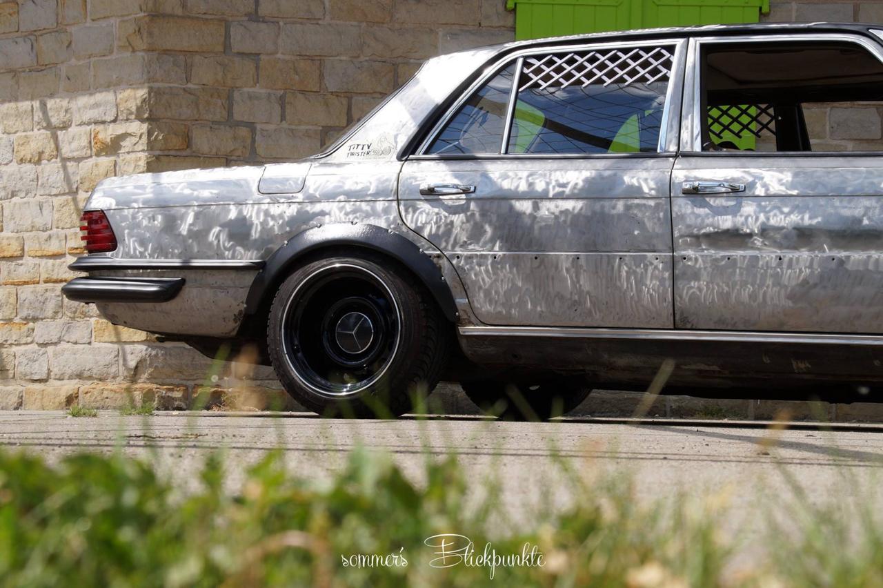 Mercedes W116 280 SE - Ol'dirty bastard ! 2