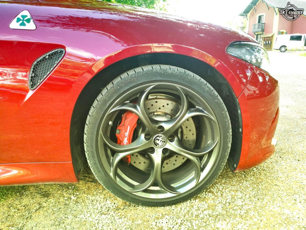 Essai DLEDMV - Alfa Giulia Quadrifoglio Verde - Violente ! 41