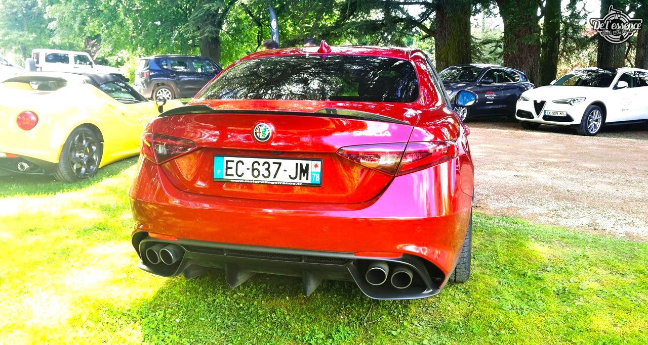 Essai DLEDMV - Alfa Giulia Quadrifoglio Verde - Violente ! 40