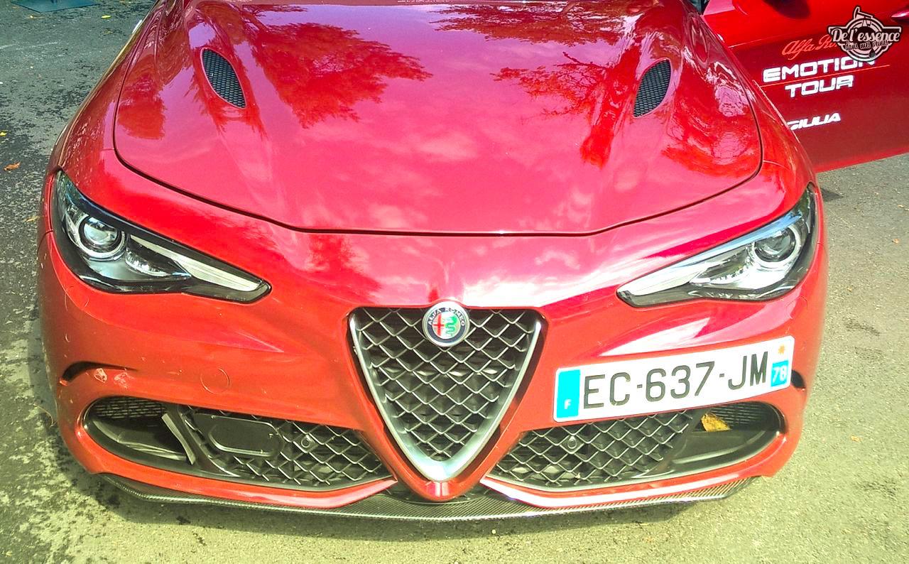 Essai DLEDMV - Alfa Giulia Quadrifoglio Verde - Violente ! 30