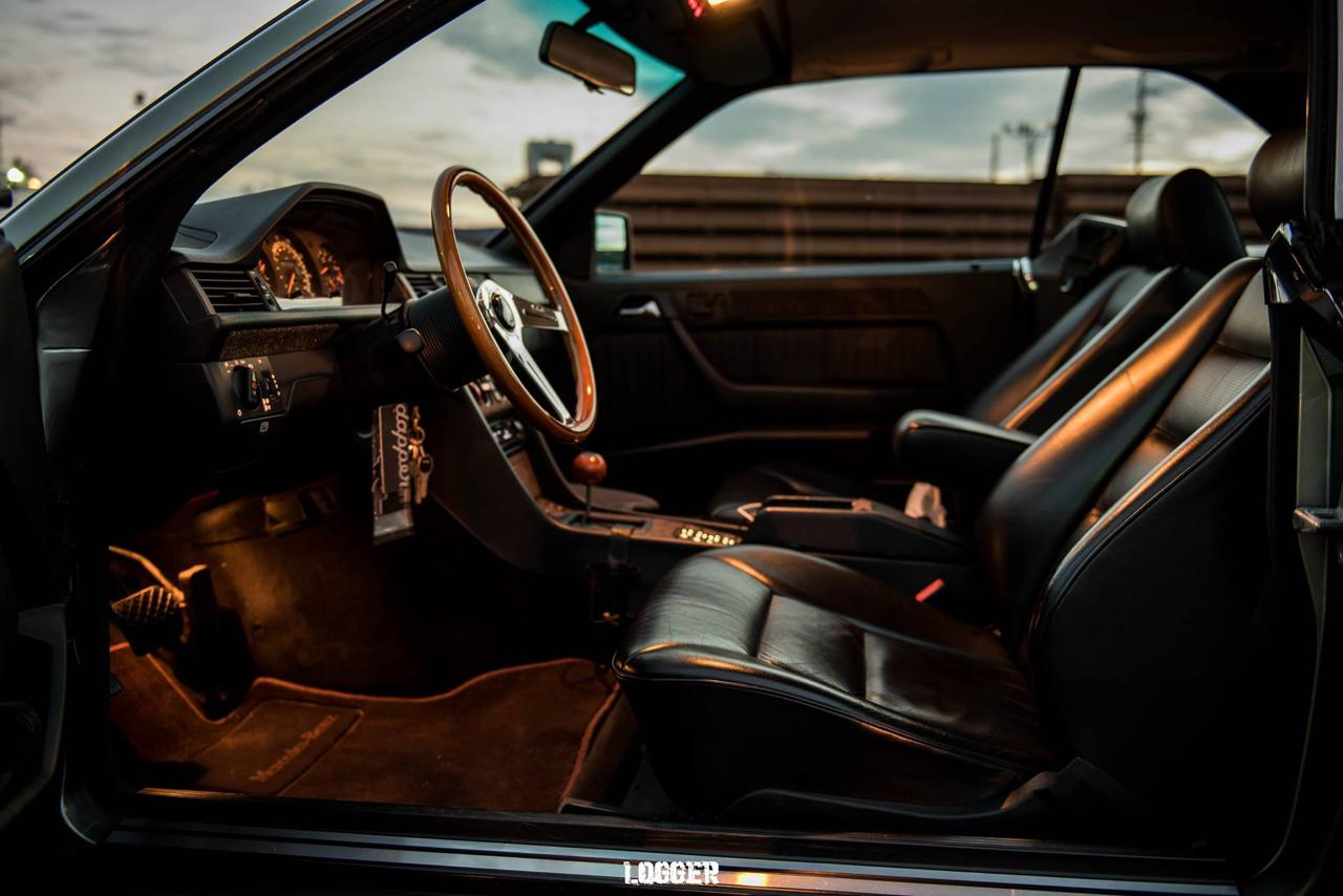 Coupé Mercos W124... Chaussé en Fuchs ! 26