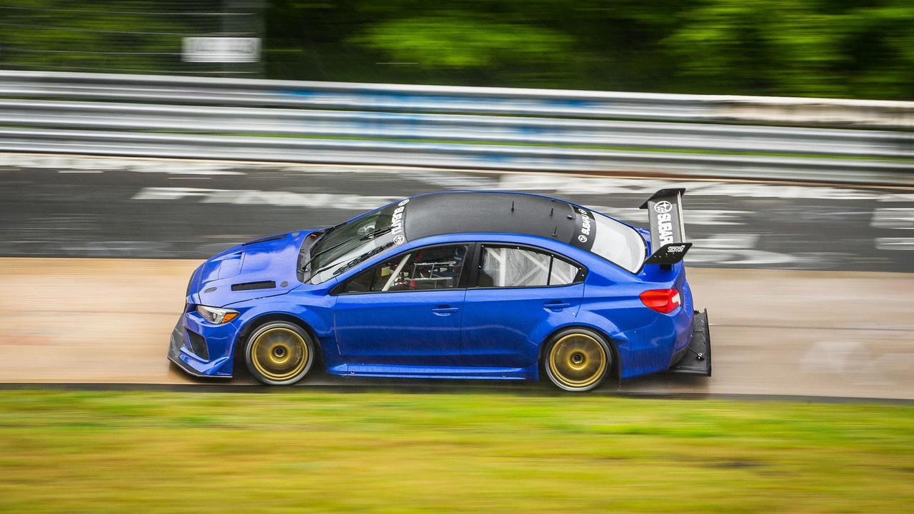 Subaru STi Type RA NBR Spécial... A la recherche de son passé ?! 1