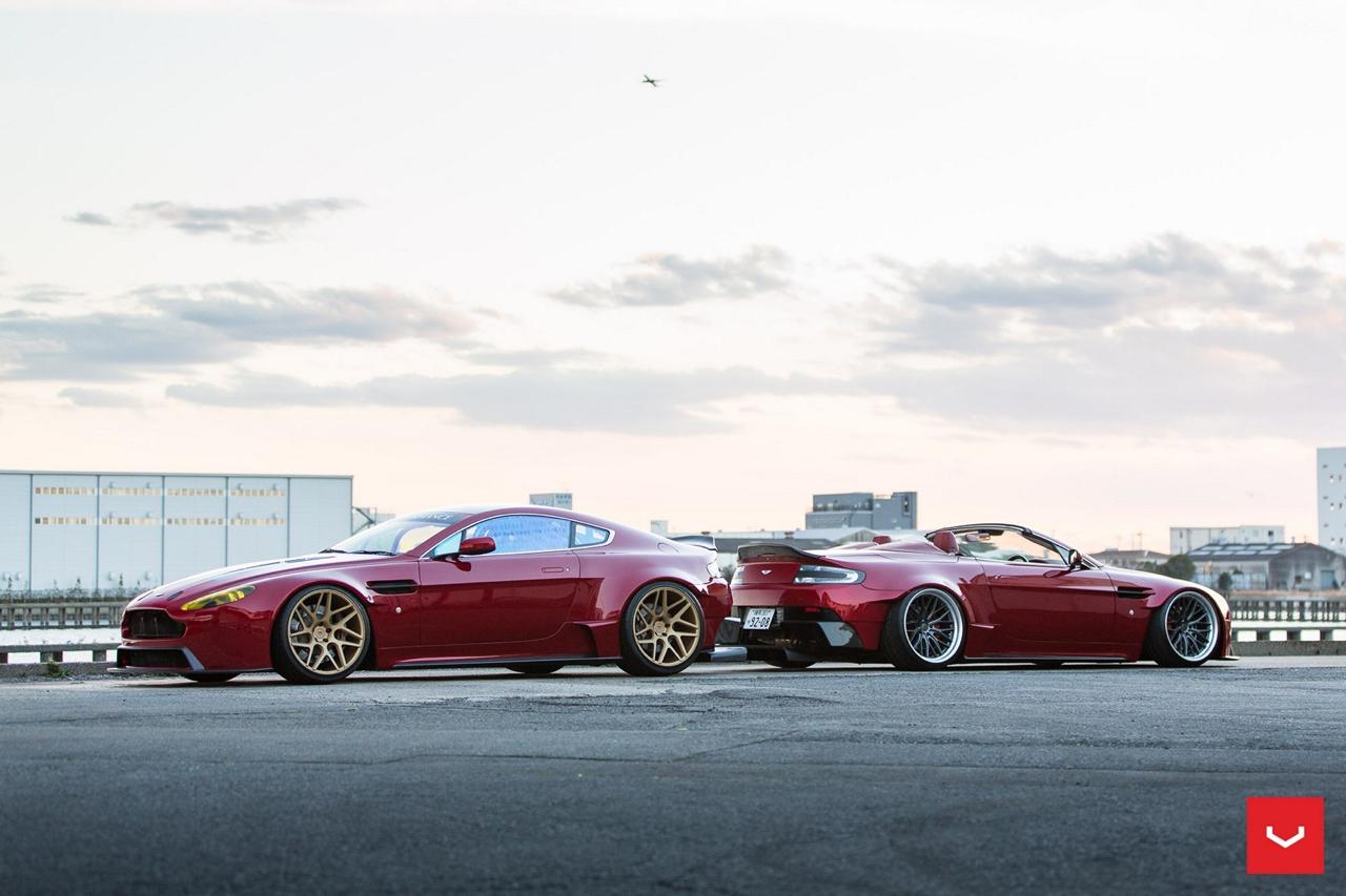 Aston V8 Vantage Roadster... J'veux du sang ! 49