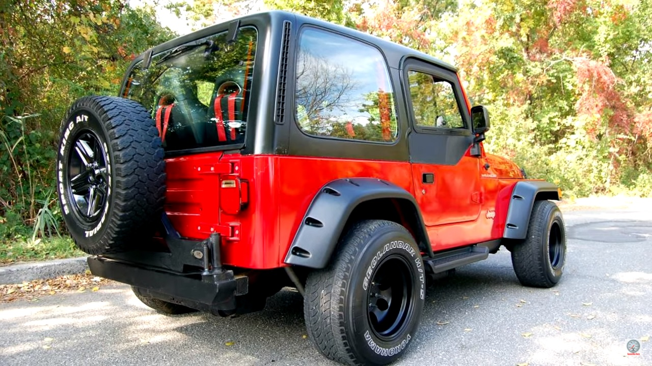 Jeep Wrangler swap 2JZ - 2 cylindres en moins, 2 turbos en plus ! 15