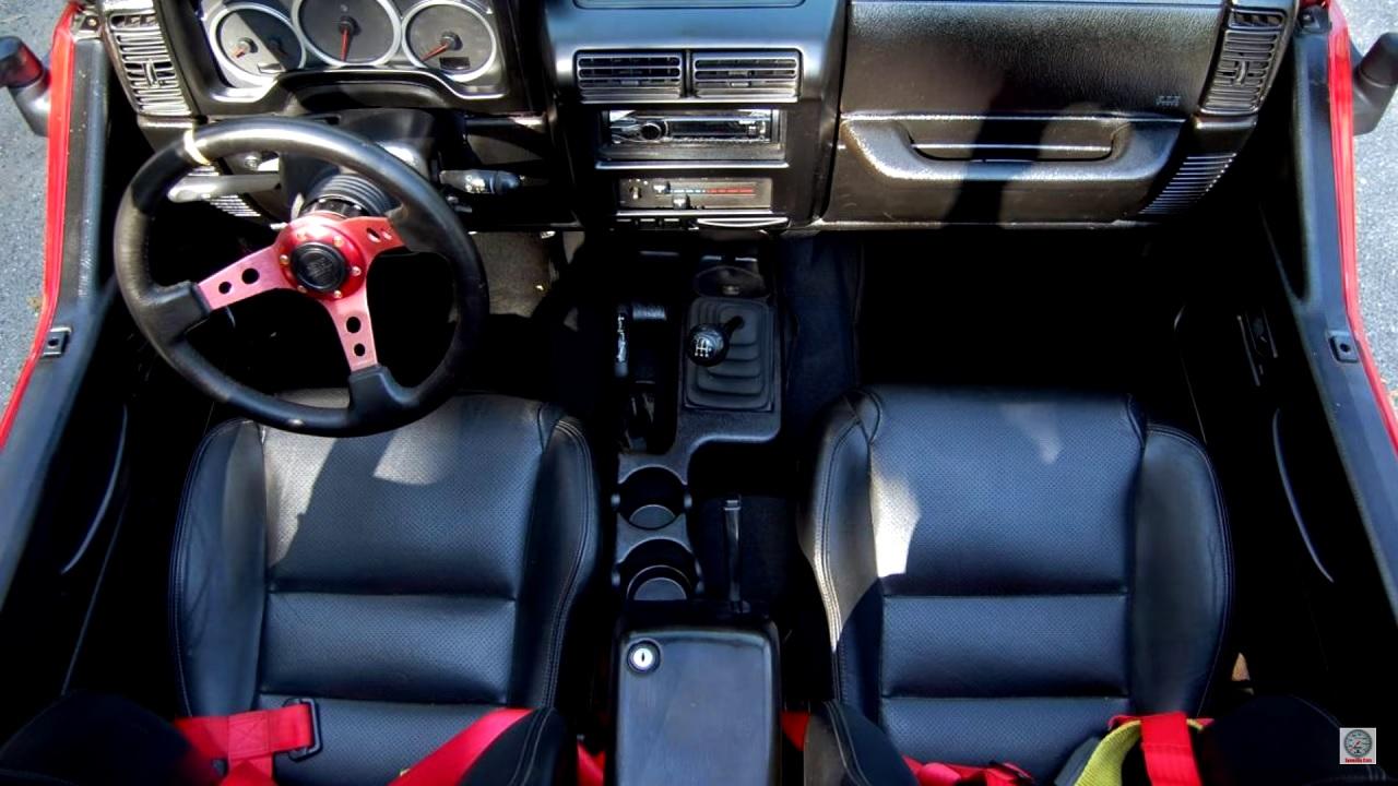 Jeep Wrangler swap 2JZ - 2 cylindres en moins, 2 turbos en plus ! 14