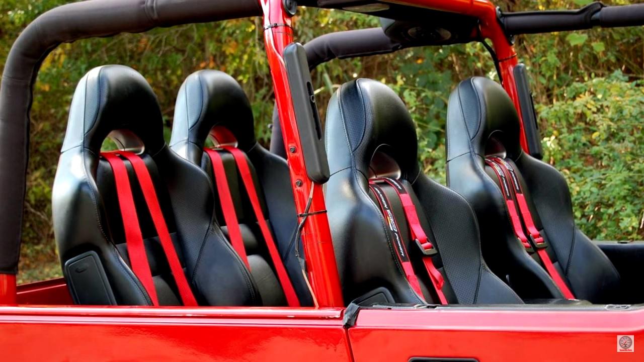 Jeep Wrangler swap 2JZ - 2 cylindres en moins, 2 turbos en plus ! 16