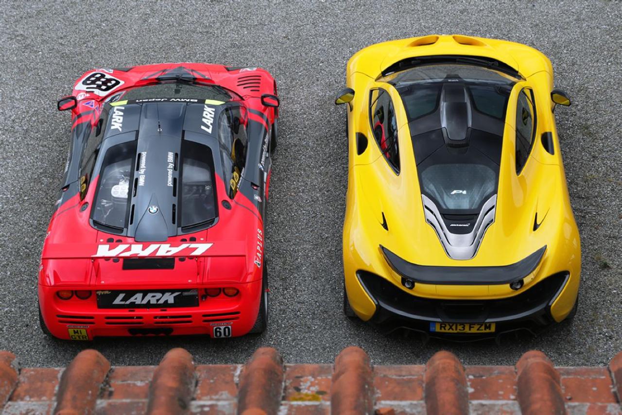 McLaren P1 GTR et F1 GTR... Réunion de famille ! 1