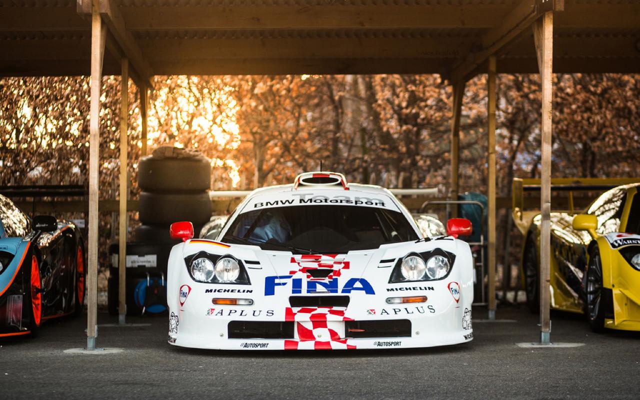 McLaren P1 GTR et F1 GTR... Réunion de famille ! 5