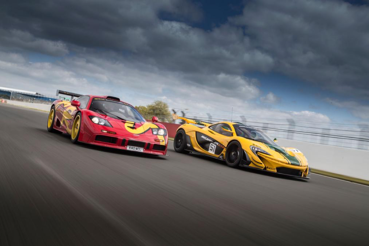 McLaren P1 GTR et F1 GTR... Réunion de famille ! 2