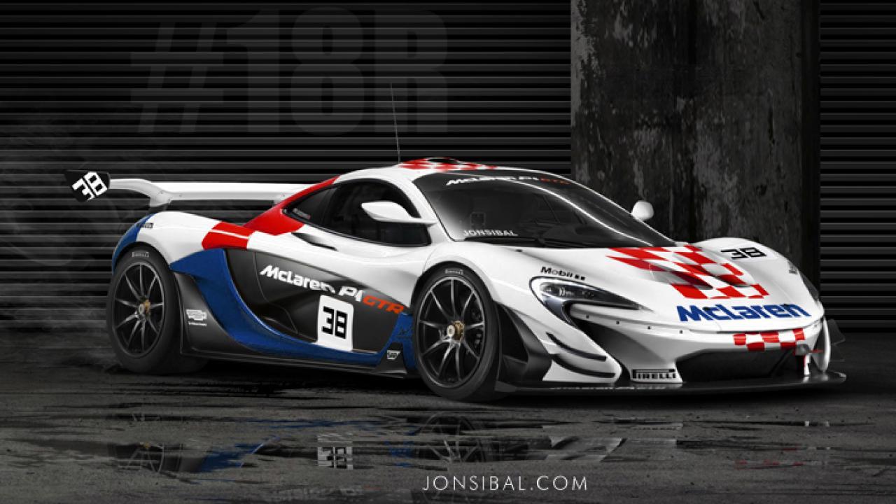 McLaren P1 GTR et F1 GTR... Réunion de famille ! 3