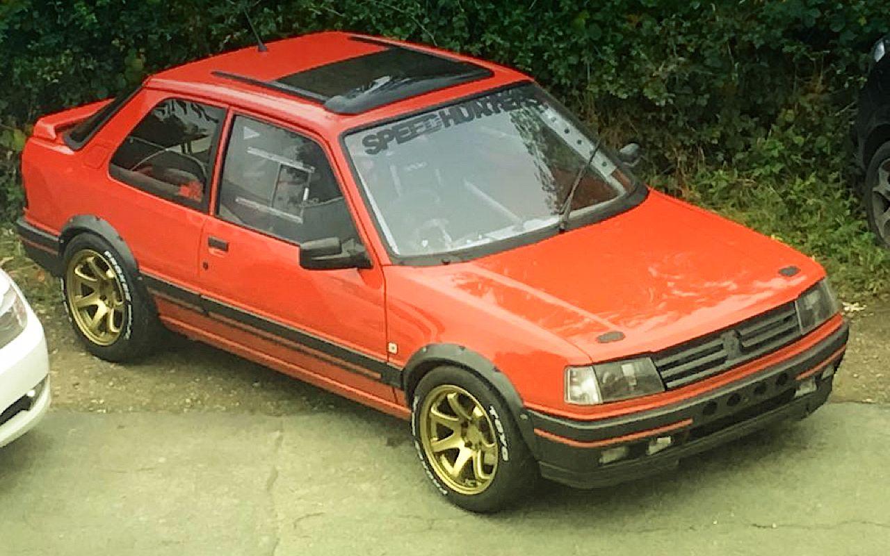 """""""Project Pugonda"""" : La Peugeot 309 Vtec turbo... 24"""