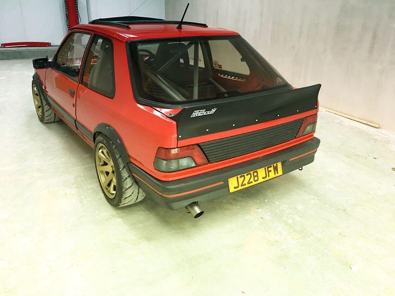 """""""Project Pugonda"""" : La Peugeot 309 Vtec turbo... 34"""