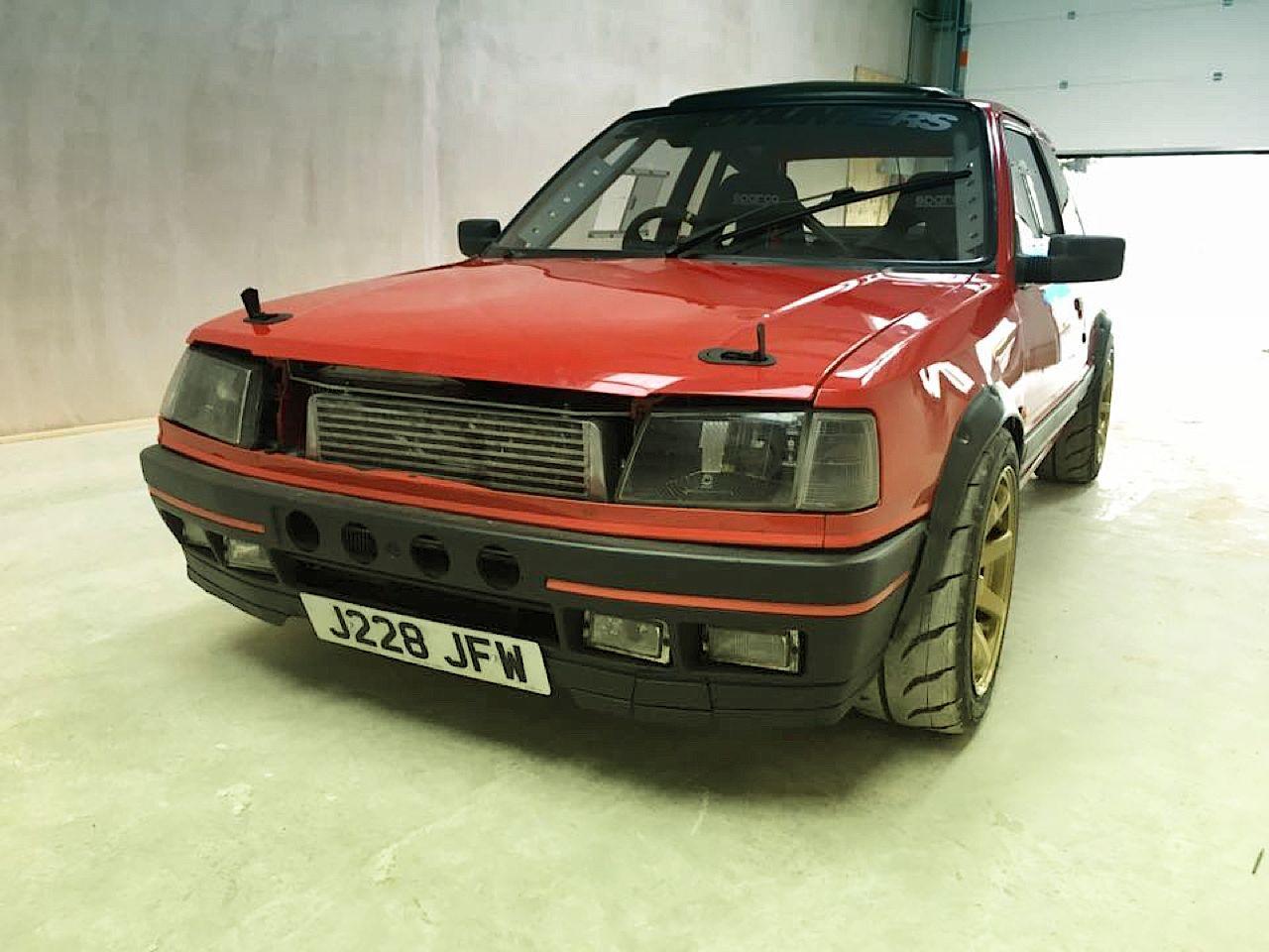 """""""Project Pugonda"""" : La Peugeot 309 Vtec turbo... 38"""