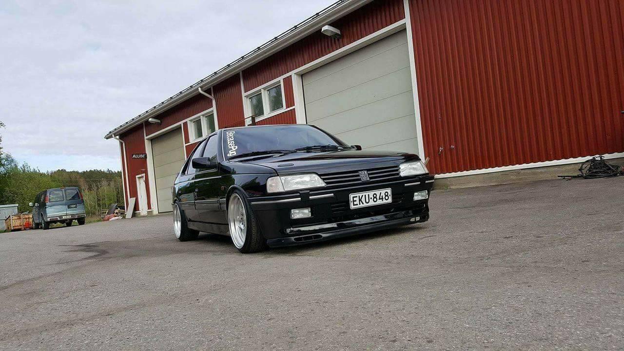 Peugeot 405 V6... Ringard attitud' ?! 22