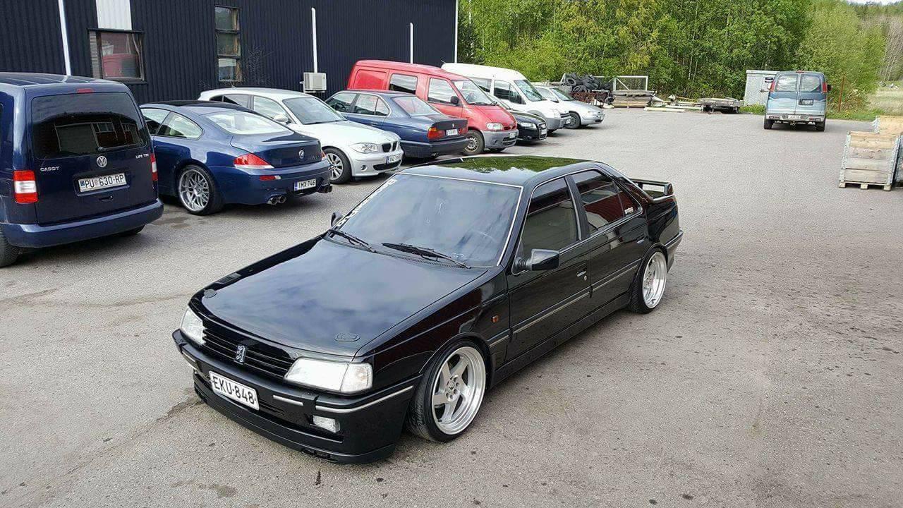 Peugeot 405 V6... Ringard attitud' ?! 13