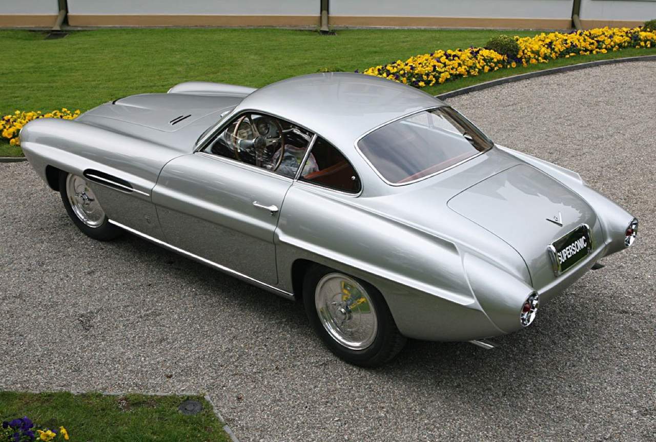 Ghia Supersonic... Jet family ! 57