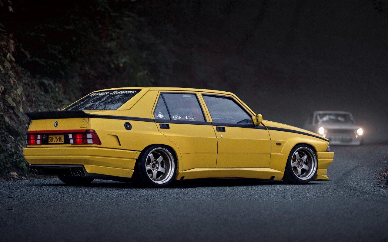 Alfa 75 Turbo America : Sale caractère ! 4