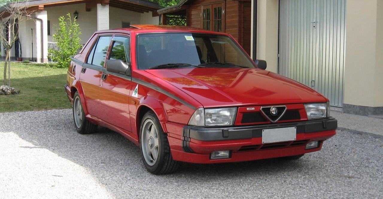 Alfa 75 Turbo America : Sale caractère ! 5