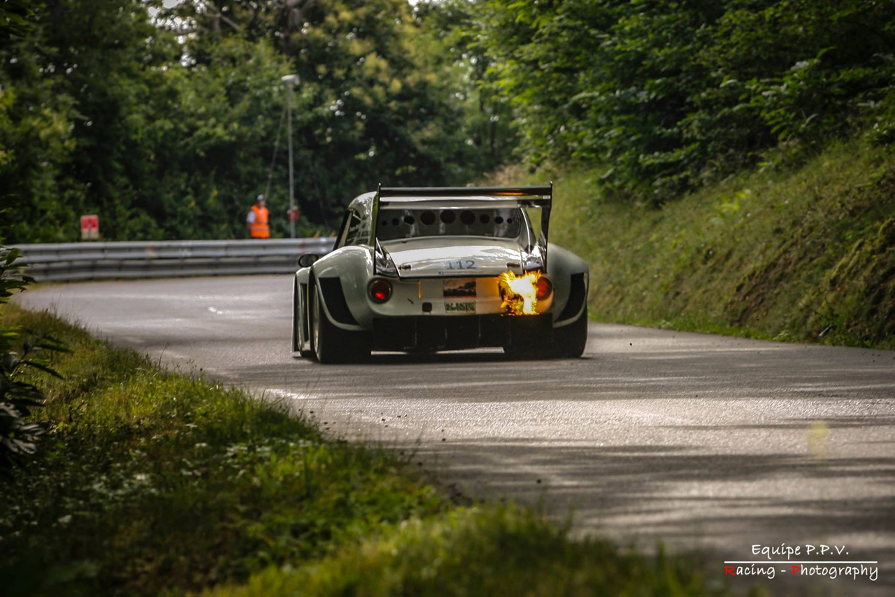Hillclimb Monster : Simca CG 1200 S... Light is right avec un turbo ! 17