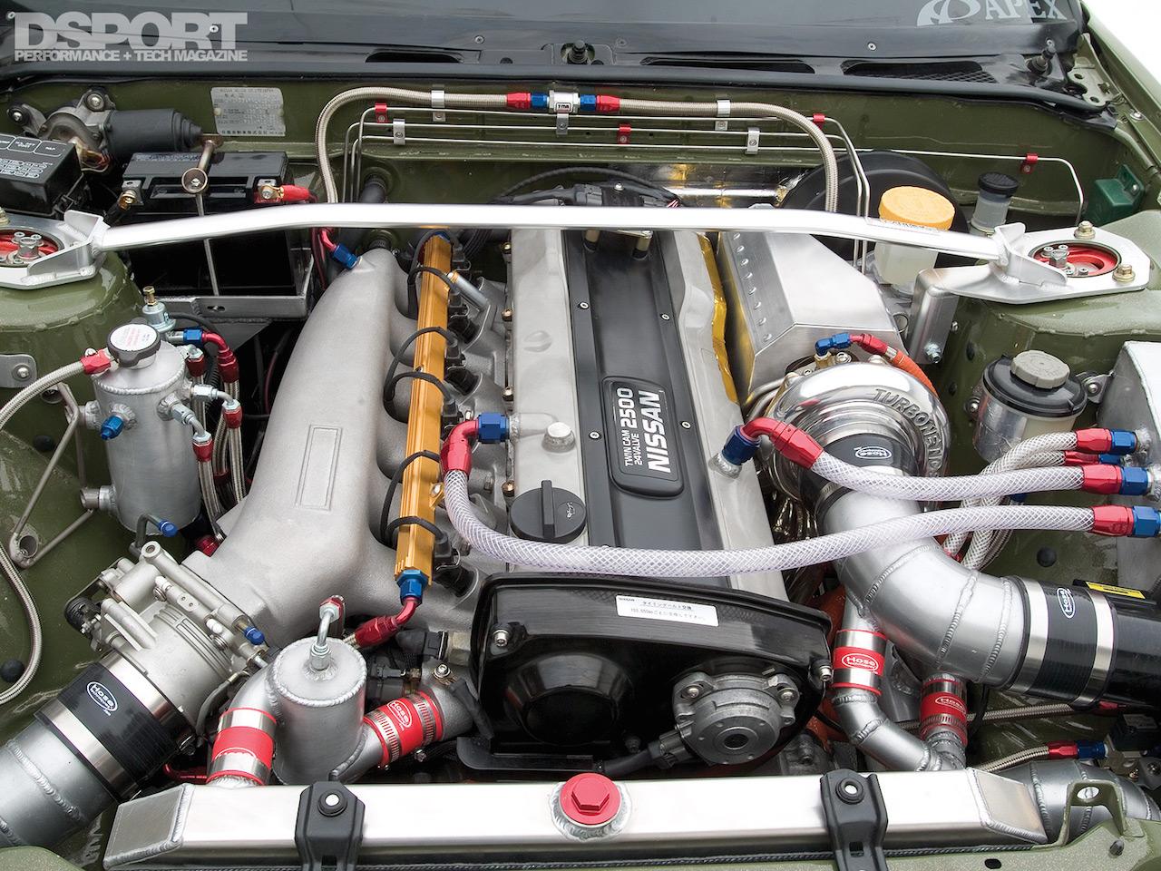 Parlons moteurs... Le légende passe aussi par eux. 145