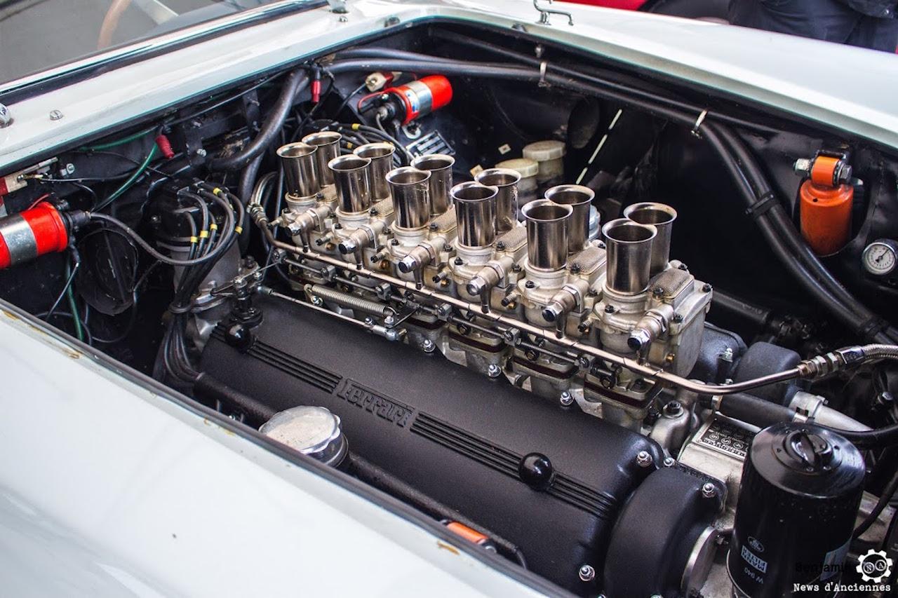 Parlons moteurs... Le légende passe aussi par eux. 124
