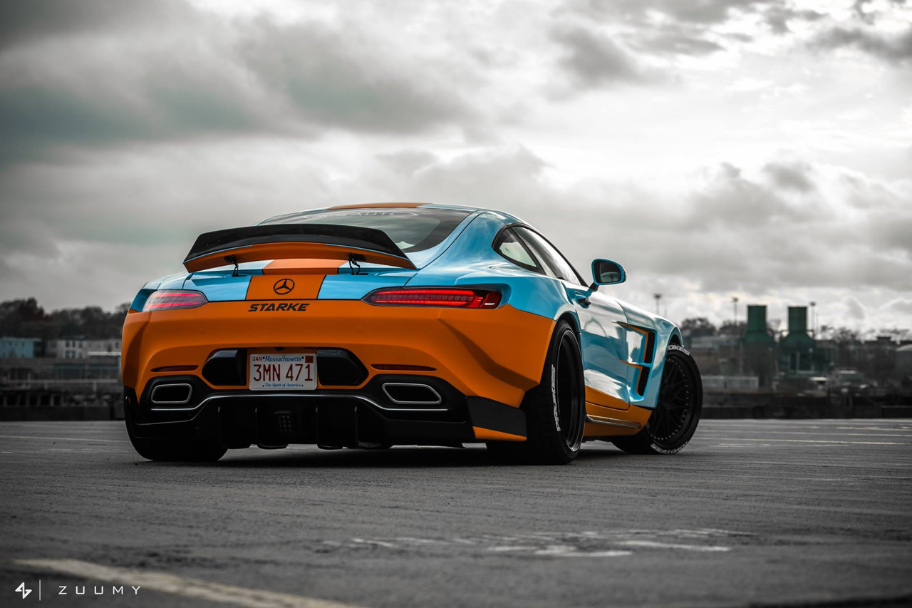 Strake AMG GT S... La guerre du Gulf ! 9
