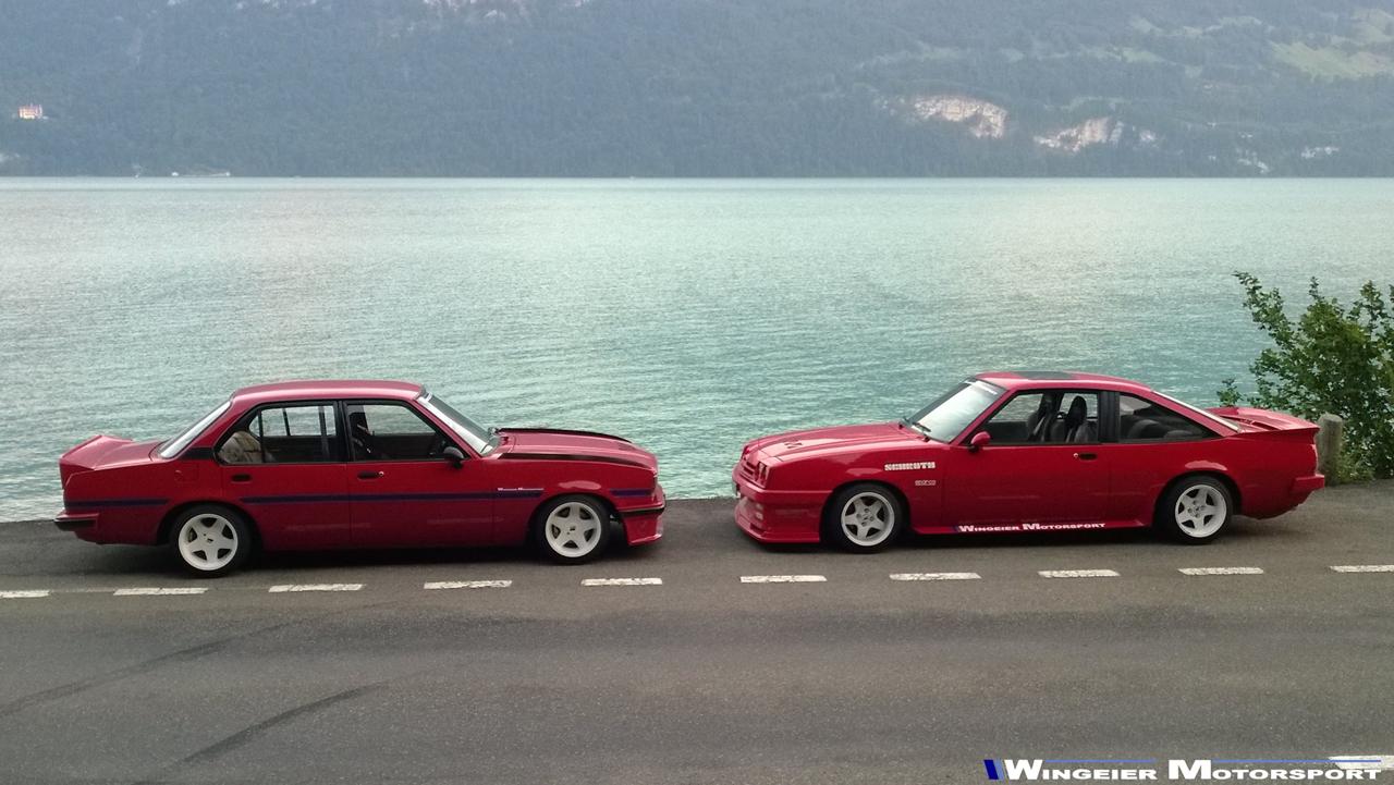 Opel Ascona B : Projekt W240... 50