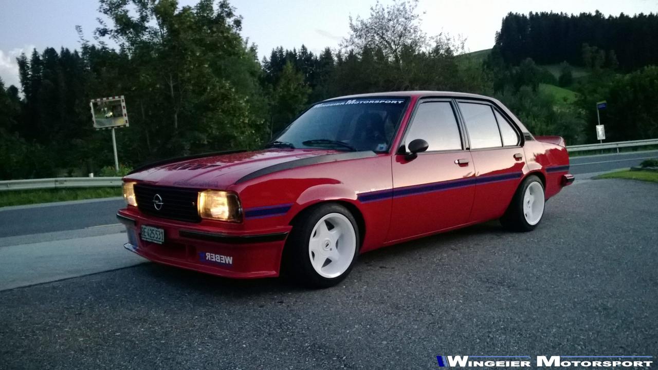 Opel Ascona B : Projekt W240... 67