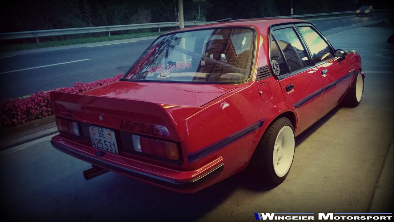 Opel Ascona B : Projekt W240... 69