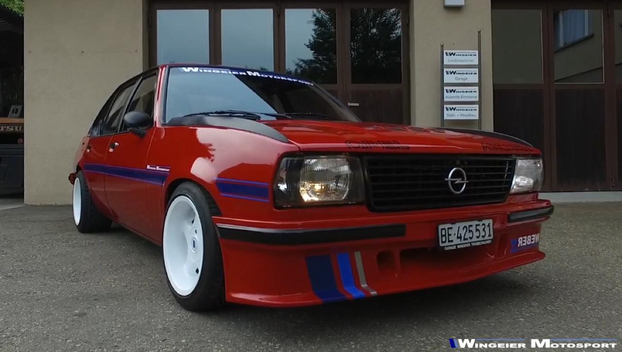 Opel Ascona B : Projekt W240... 71