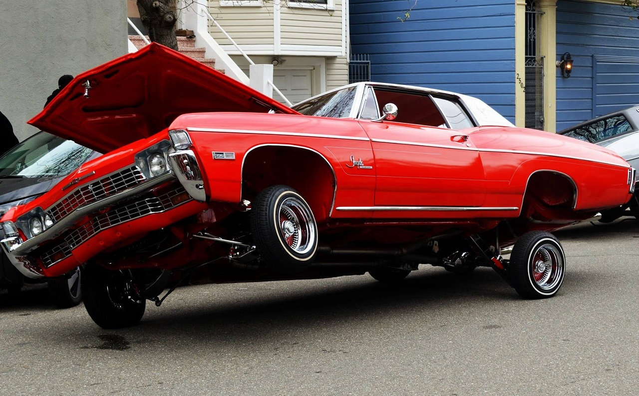 """King Of The Streets"" San Francisco - Lowrider Family ! 13"