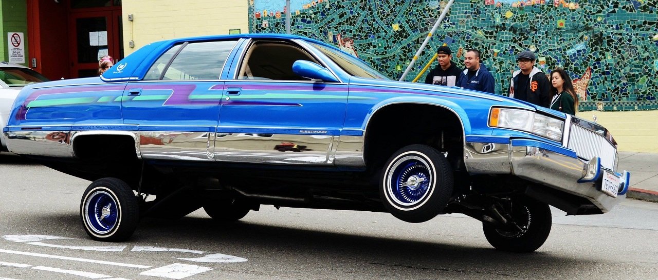 """King Of The Streets"" San Francisco - Lowrider Family ! 12"